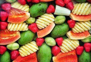 Fruta-troceada
