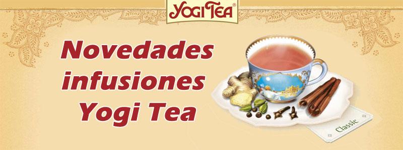 Novedades Yogi Tea