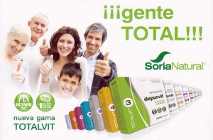 Gama de productos Totalvit