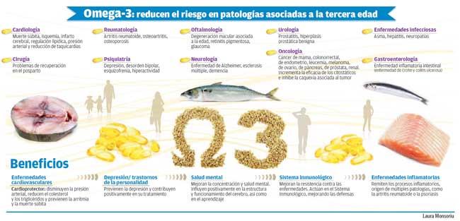 Alimentos ricos en acidos grasos poliinsaturados omega 3