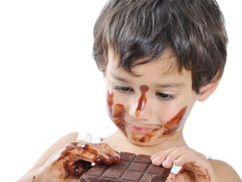chocolate-niños