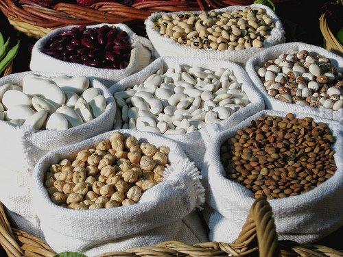 Proteína y legumbres