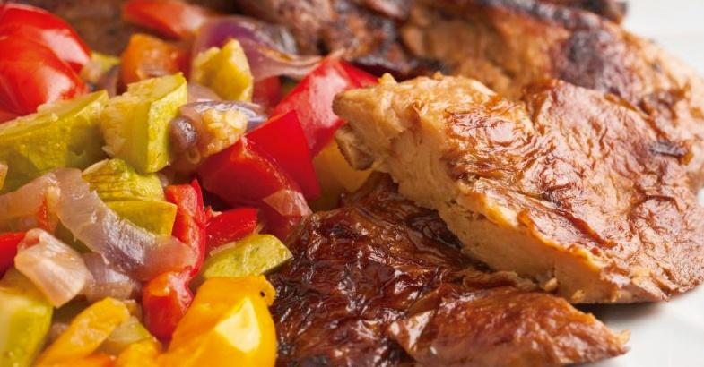 seitan de gluten de trigo como alimento proteico para dietas vegetarianas ideal para recetas vegetarianas